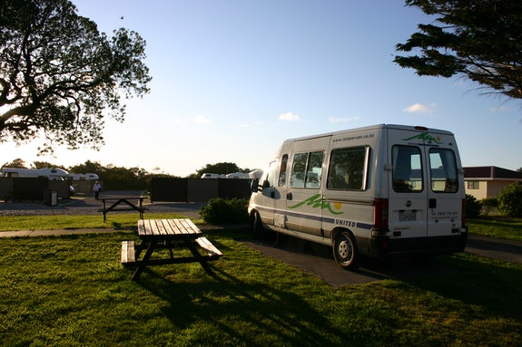 Caravan parks in West Coast