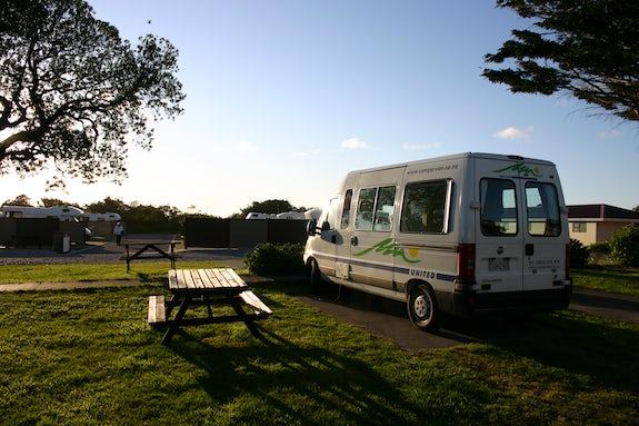 Caravan parks in West Coast
