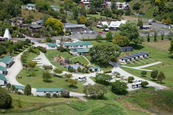 Caravan parks in Waikato