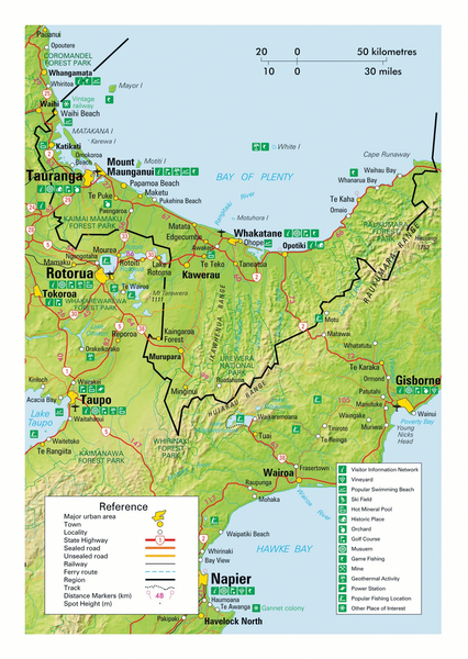 Bay of Plenty Map