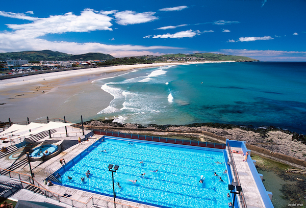 St Clair Hot Salt Water Pool, Dunedin