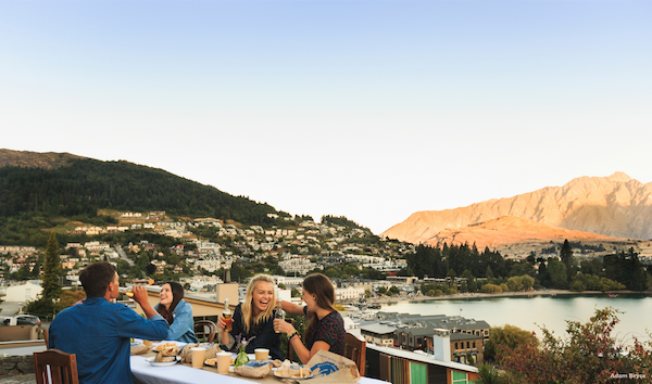 Dine out in Queenstown