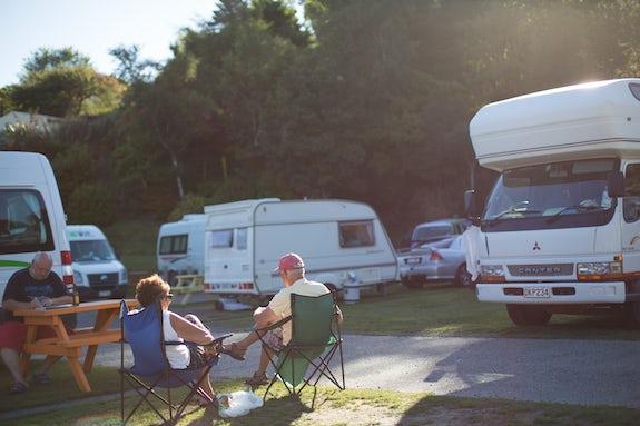 Caravan parks in Dunedin