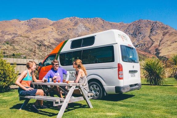 Caravan parks in Otago
