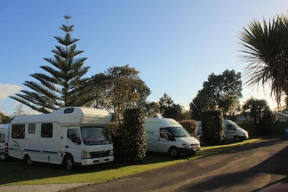Camping in Taranaki