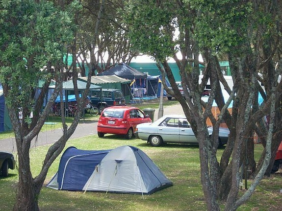 Camping in Auckland