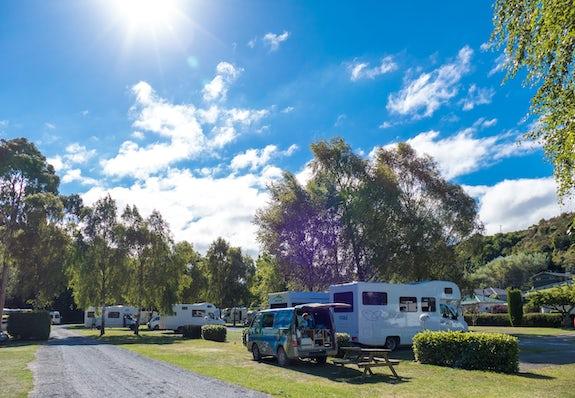 Camping in Otago