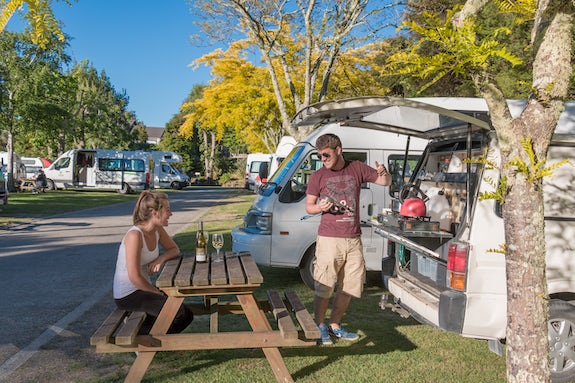 Camping in Marlborough