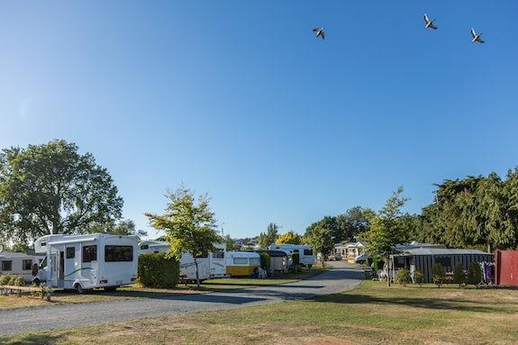 Caravan parks in Canterbury