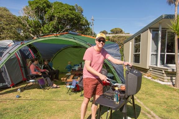 Camping in Waikato
