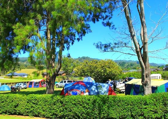 Camping in Coromandel