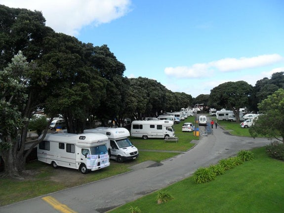 Caravan parks in the Lower North Island