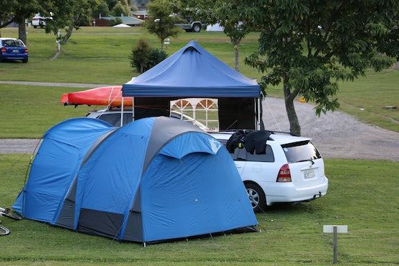 Camping in Bay of Plenty