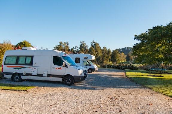 Caravan parks in Central North Island